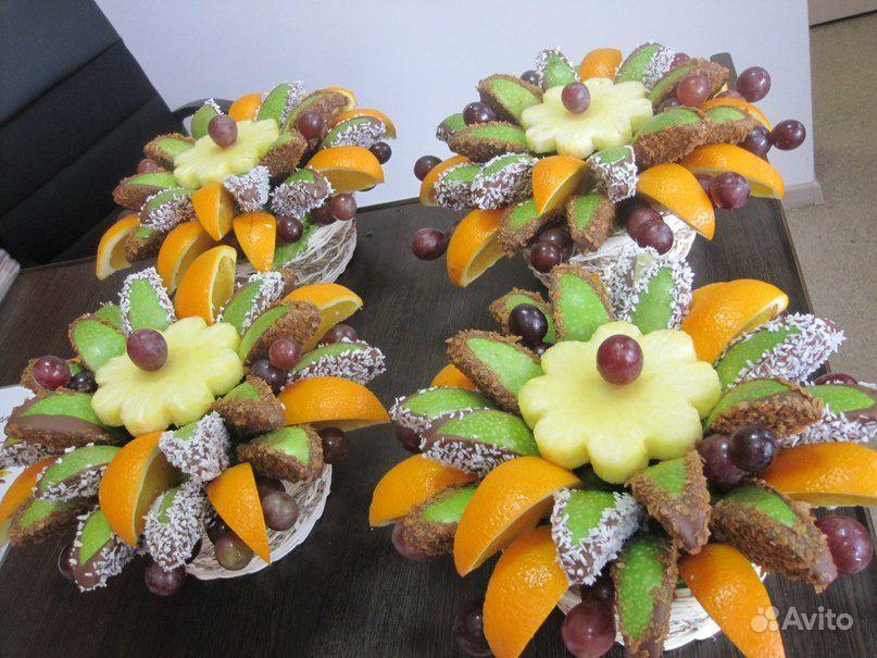 Композиции из фруктов своими руками пошагово 99