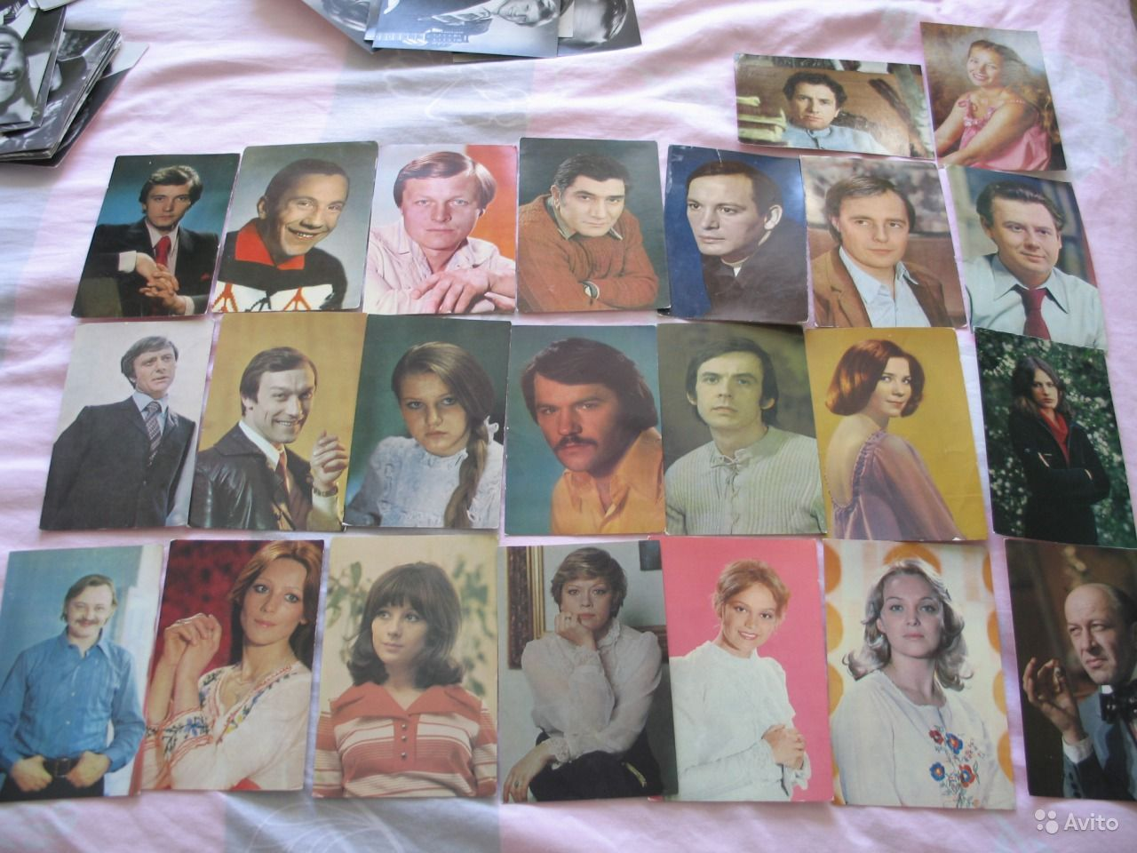 Советские фотографии-открытки артистов, 60-70 гг купить в 12
