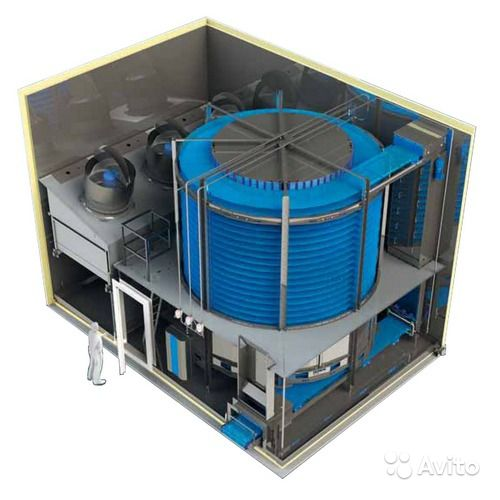 Украгроспецхолод: Спиральные морозильные аппараты.
