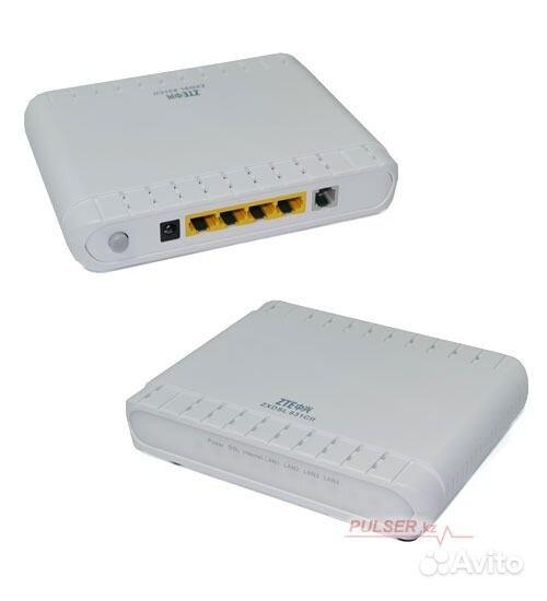 Размещение. Гарантия. ADSL Modem/Router, ZTE ZXDSL 831CII, 4 x 10.