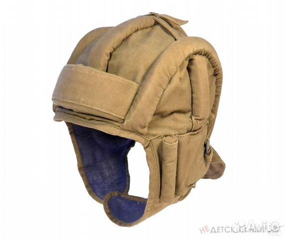 Вам предлагается танковый шлемофон обр.  1937 года из комплекта спец снаряжения танкистов РККА.