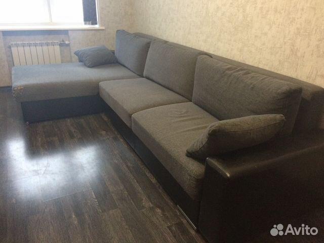 Угловой диван  б/у  из рук