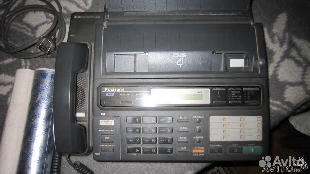 Факс panasonic KX-F130
