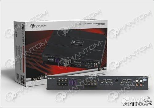 В январе 2011г в Росcии в продажу поступили 2 новые модели усилителей PHANTOM по весьма доступной цене - PSA...