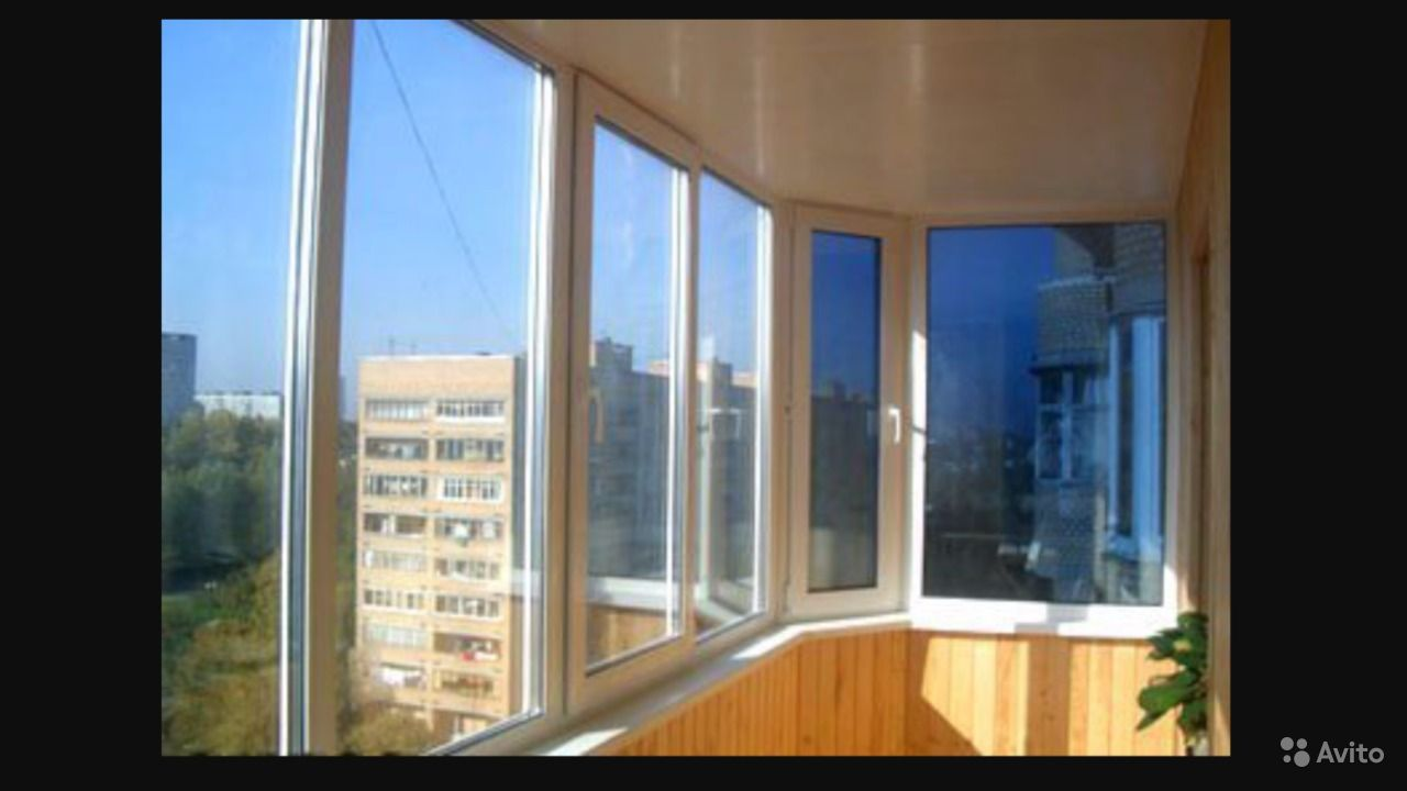 Тёплое остекление балконов в кургане - объявление кургана.