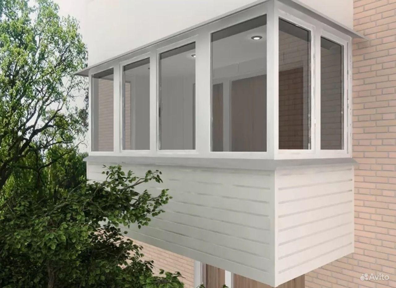 Застеклить балкон пластиковыми окнами цены..