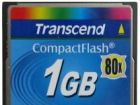 Флешка Transcend CompactFlash 1GB