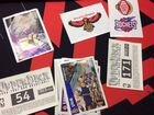 Наклейки, карточки футбол и баскетбол