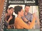 """Учебник по английскому языку """"Business result"""" pre"""