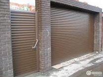 Гаражные секционные ворота DoorHan Alutech