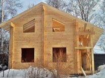 Строительство домов из профилированного бруса — Предложение услуг в Санкт-Петербурге