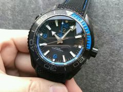 Omega Planet Ocean Seamaster GMT Deep Black