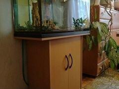 Продам аквариум juwel 125 с тумбой