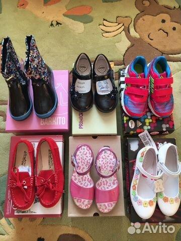6c556290a Новая фирменная обувь для девочки, размер 30 купить в Москве на ...