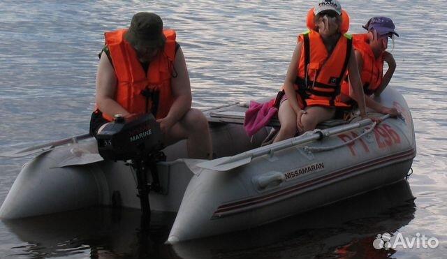 лодка пвх с мотором с пробегом