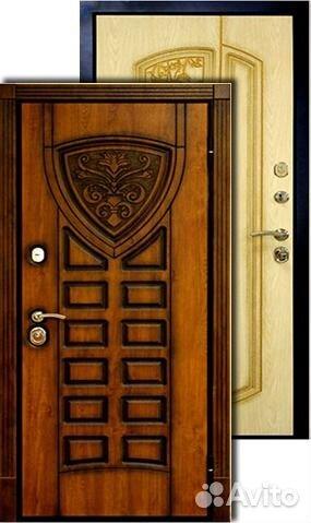металлические двери двустворчатые в москве