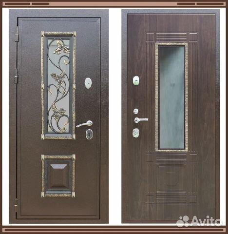 входные двери со стеклом пакетом москва
