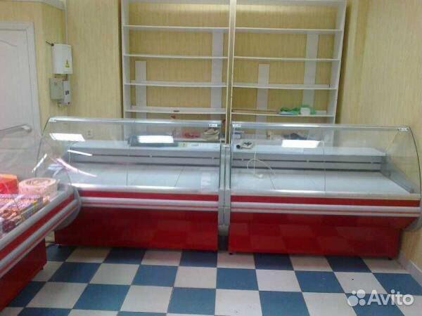 Showcase freezer krispy