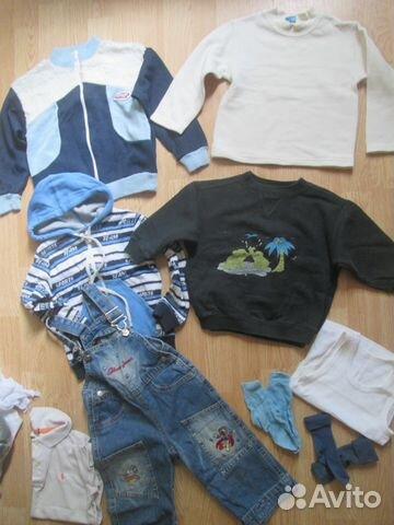 60e9c828e Большой пакет одежды для мальчика купить в Москве на Avito ...