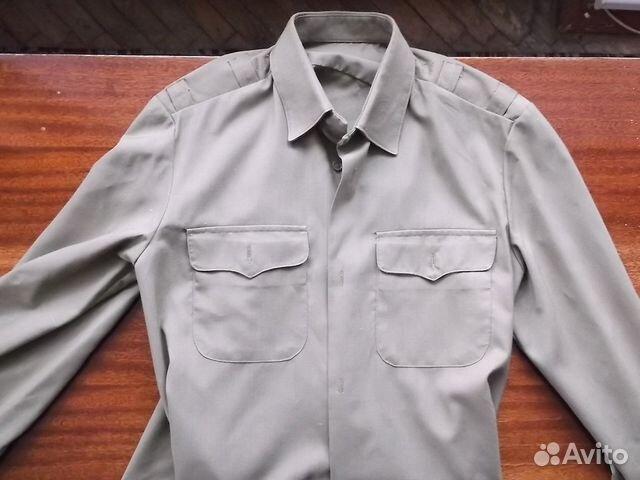 Купить белую офицерскую рубашку