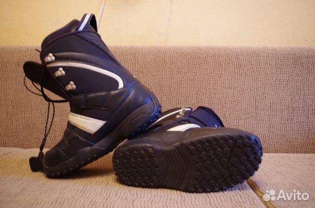 Сноуборд с креплениями и ботинками   Festima.Ru - Мониторинг объявлений 19a18322303