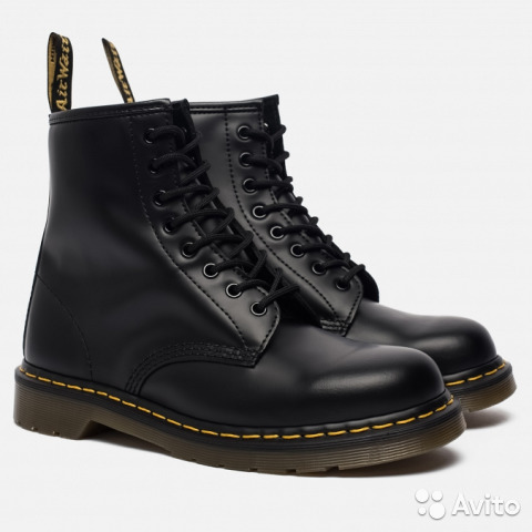 Dr. Martens чёрные ботинки оригинальные. 44 размер  5c84604b54ce5