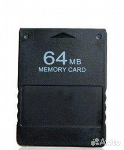 Карту памяти для Sony PS2 на 64мб 89063098779 купить 1