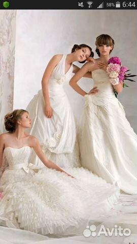 bec8703e9d5 Новые красивые свадебные платья купить в Белгородской области на ...