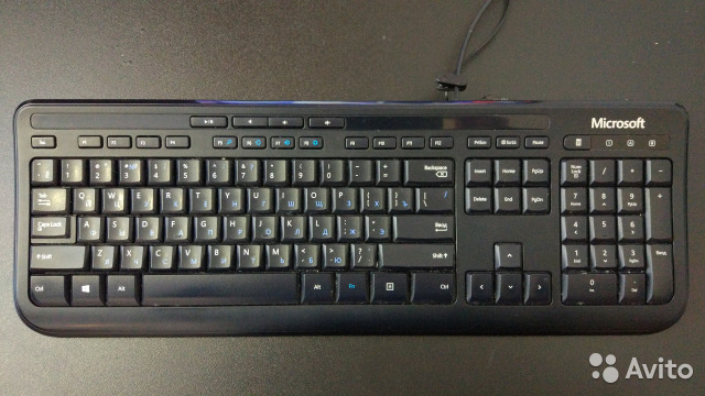 Клавиатура Microsoft Wired Keyboard 600 (рабочая)