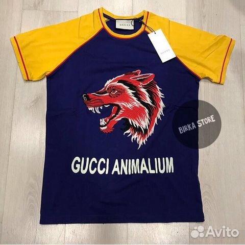 Футболка Gucci купить в Москве на Avito — Объявления на сайте Авито c94197c7ad2