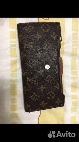 5628c12fe635 Кошелек-клатч портмоне Louis Vuitton   Festima.Ru - Мониторинг ...