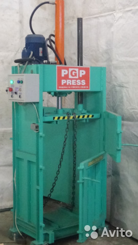 Макулатура пресс купить спб купить мини завод по переработки макулатуры в