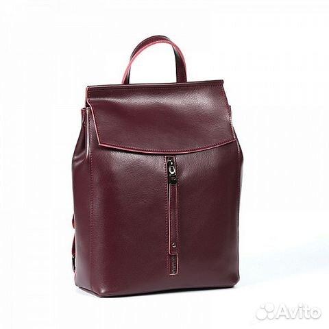 61513a9f8f79 Рюкзак трансформер женский коричневый кожаный 2506 | Festima.Ru ...