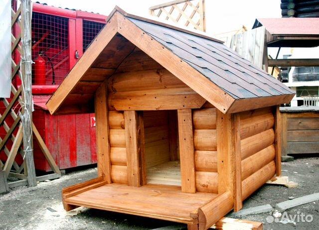 фото будок из блок хауса дворе видна галерейная
