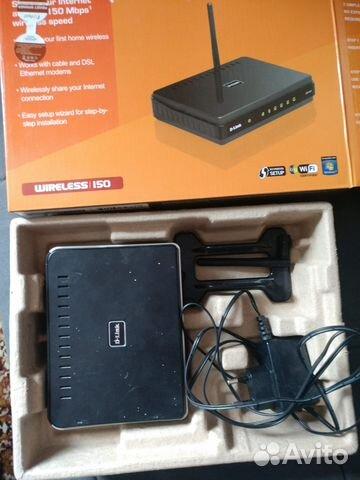 Роутер D-Link dir-300 б у  openwrt Wi-Fi