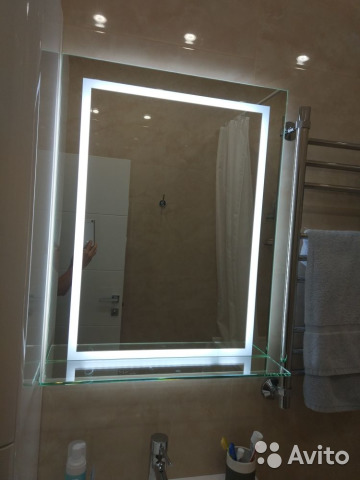 3a1ace987190 Зеркало с подсветкой в ванную комнату купить в Москве на Avito ...