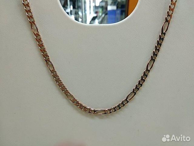 Цепь Фигаро из золота 585 пробы купить в Свердловской области на ... a8d3280ed27