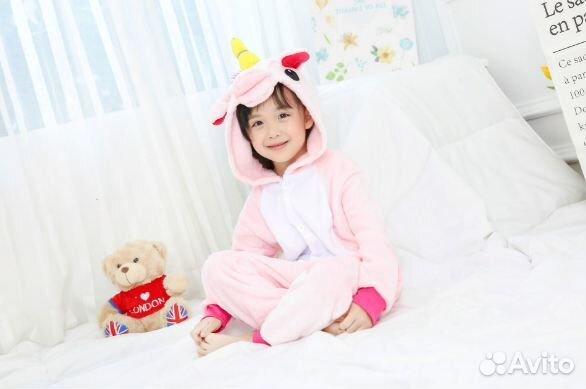 Детская пижама Кигуруми Единорог (100-115)  ab9c63a3f0f83