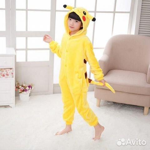 Пижама Кигуруми Пикачу - Личные вещи 614049d71cab4