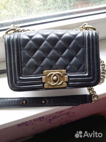 Сумка Chanel кожа   Festima.Ru - Мониторинг объявлений 0cdf6398d78