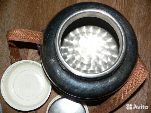 Термос 3 литра с широким горлом нержавейка