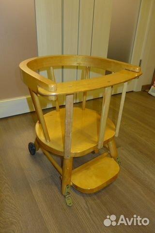 детский стул для кормления деревянный Festimaru мониторинг