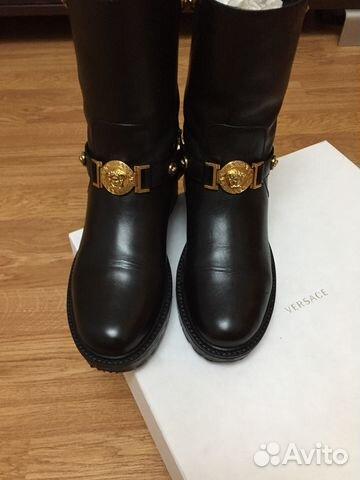 7f5893db4337 Ботинки сапоги Versace оригинал   Festima.Ru - Мониторинг объявлений
