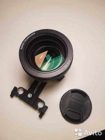 Anamorphic Kowa 16-h + Single Focus Rapido FVD-16A