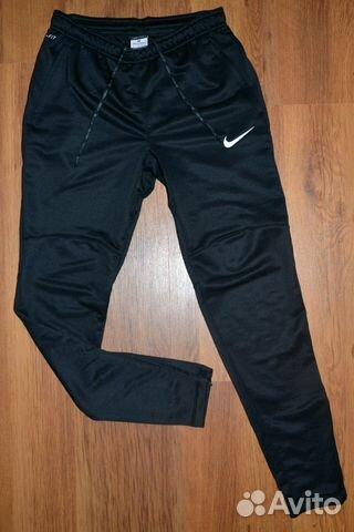 Зауженные тренировочные брюки nike манчестер юнайтед