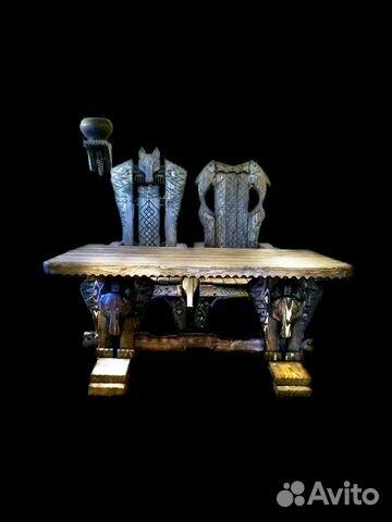 стол из дерева под старину вожак купить в ленинградской
