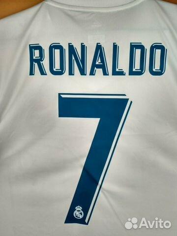 3e658a11530b83f Футболка и шорты Роналдо Реал Мадрид Белая 2018   Festima.Ru ...