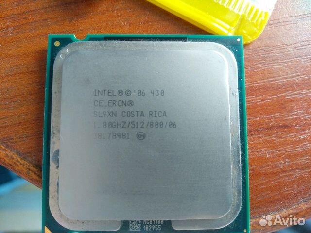 Процессор intel celeron 430, 775 socket