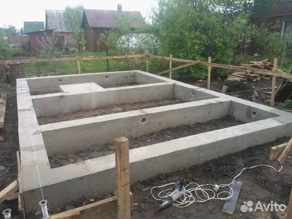 Подъем домов Фундамент