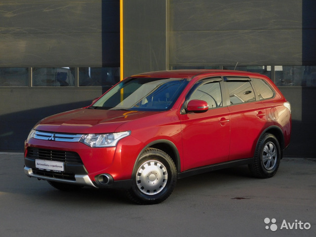 Mitsubishi Outlander 2.0CVT, 2014, 45383км
